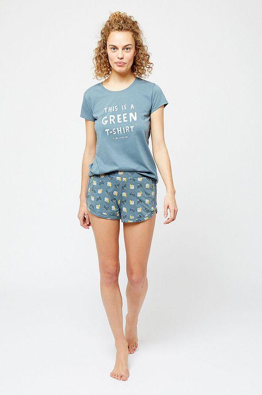 Etam - Pyžamové šortky Klaya olivová