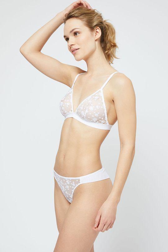 bílá Etam - Kalhotky brazilky Tilda