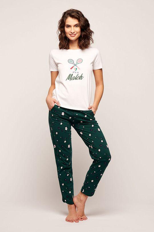 Etam - Pyžamové tričko Pattie smetanová