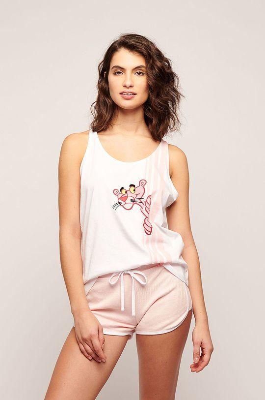 Etam - Pyžamové šortky Parker růžová