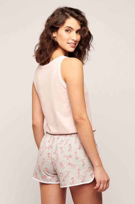 Etam - Pyžamové šortky Palmer  95% Bavlna, 5% Viskóza
