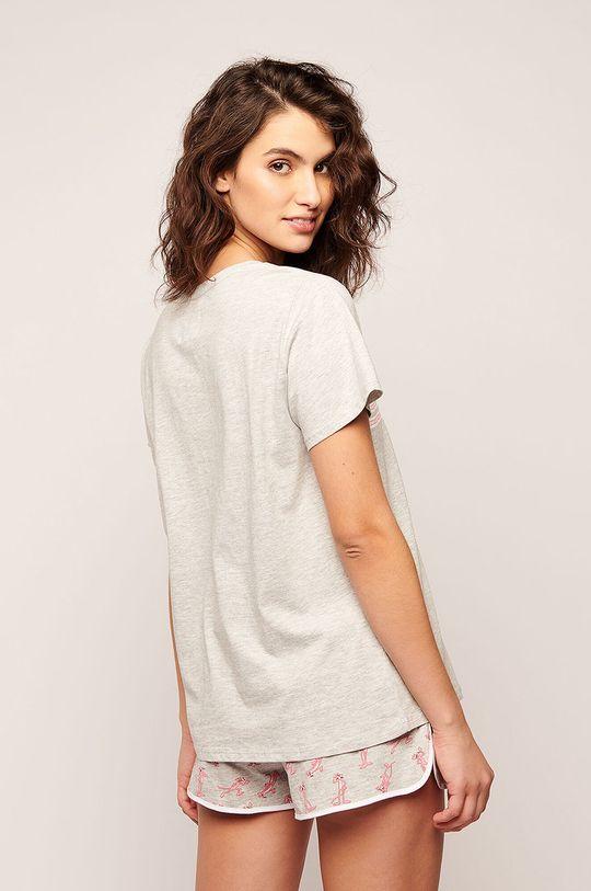 Etam - Pyžamové tričko Pipper šedá