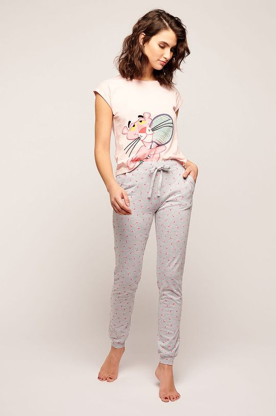 Etam - Pyžamové tričko Preston růžová
