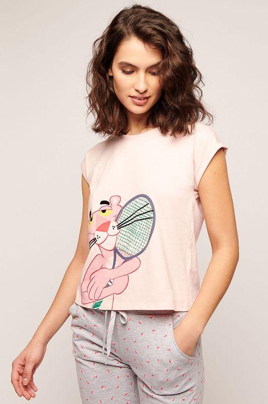 růžová Etam - Pyžamové tričko Preston