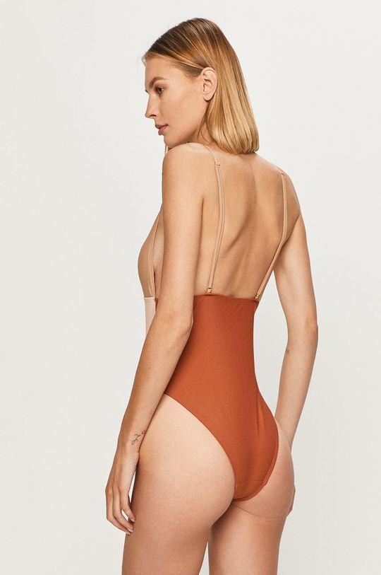 Vero Moda - Strój kąpielowy beżowy