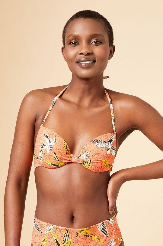 pomarańczowy Etam - Biustonosz kąpielowy Africa