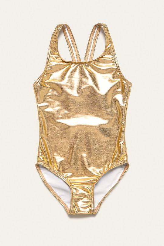 zlatá Name it - Dětské plavky 110-152 cm Dívčí