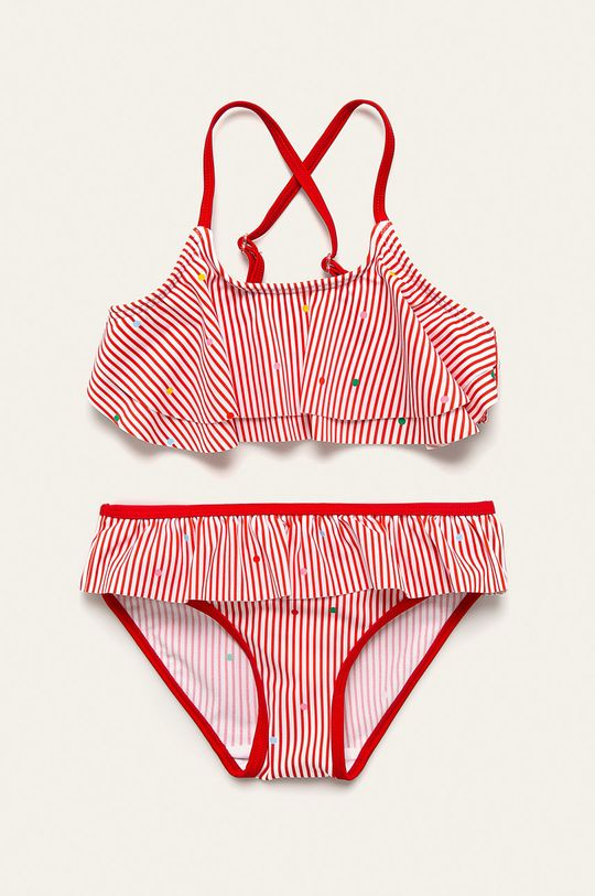 červená Name it - Dětské plavky 122/128-158/164 cm Dívčí