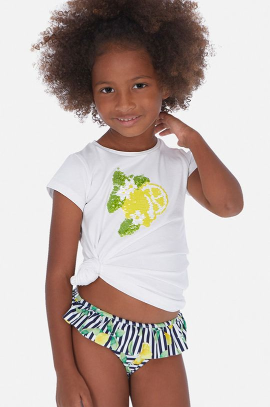 тъмносин Mayoral - Детски бански долнище 92-122 cm Момиче