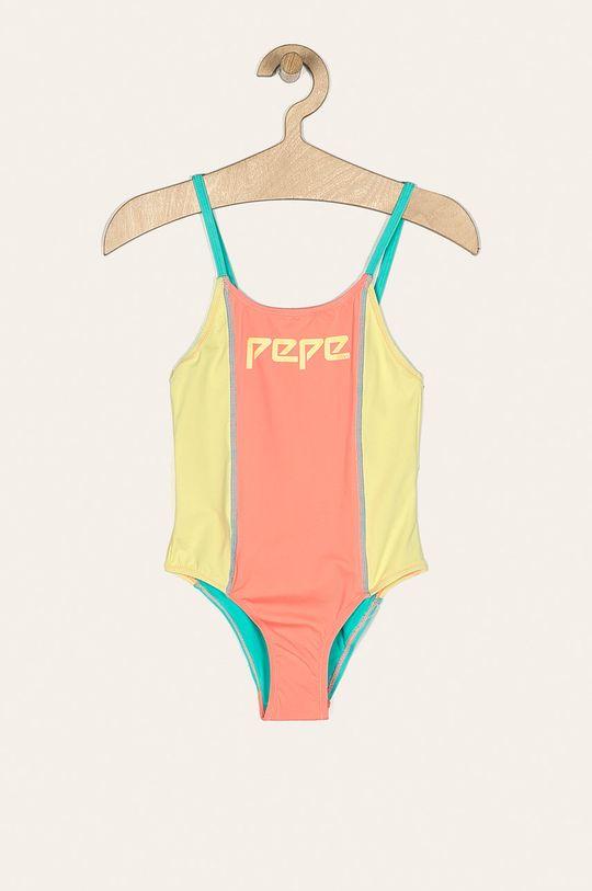 menta Pepe Jeans - Costum de baie copii Arco 128-178 cm De fete