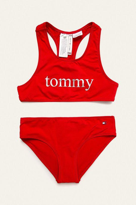 rosu Tommy Hilfiger - Costum de baie copii 104-164 cm De fete