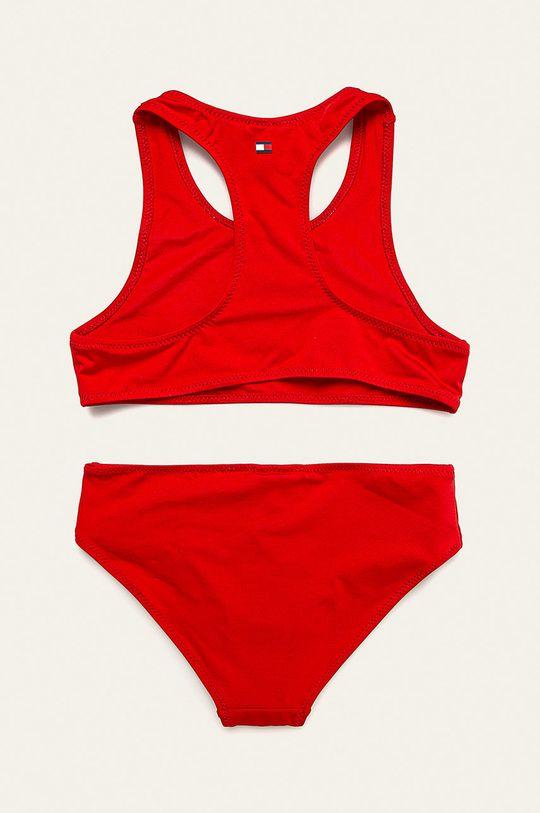 Tommy Hilfiger - Costum de baie copii 104-164 cm rosu