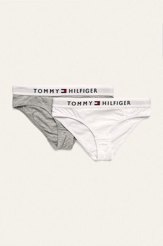 alb Tommy Hilfiger - Chiloti copii 128-164 cm (2 pack) De fete