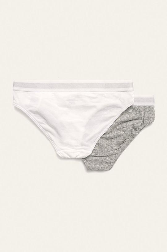 Tommy Hilfiger - Figi dziecięce 128-164 cm (2 pack) biały