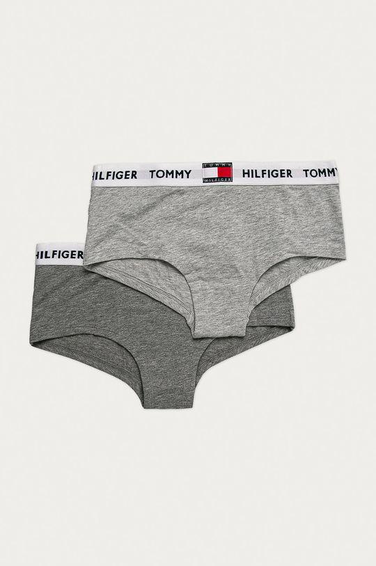 sivá Tommy Hilfiger - Detské slipy (2-pak) Dievčenský