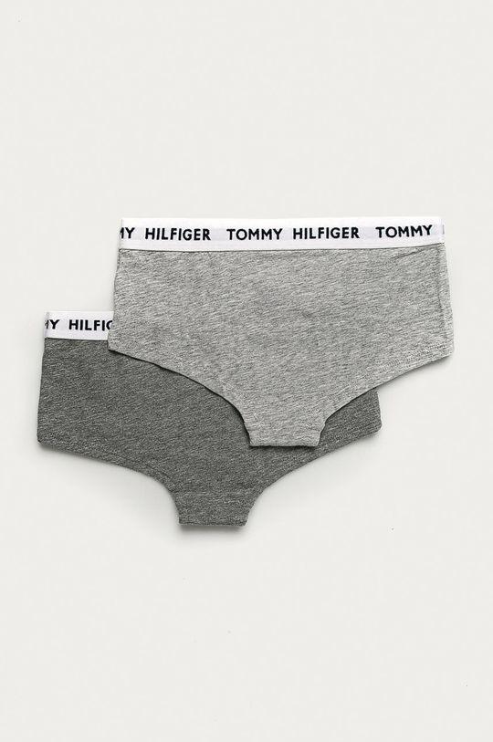 Tommy Hilfiger - Detské slipy (2-pak) sivá