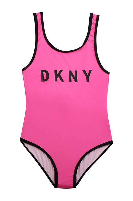 roz ascutit Dkny - Costum de baie copii 152-158 cm De fete