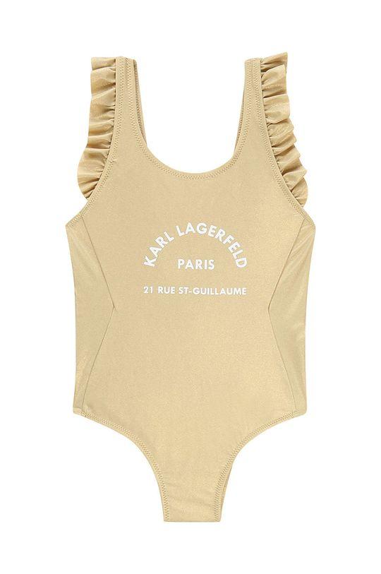 zlatá Karl Lagerfeld - Plavky 156-162 cm Dívčí