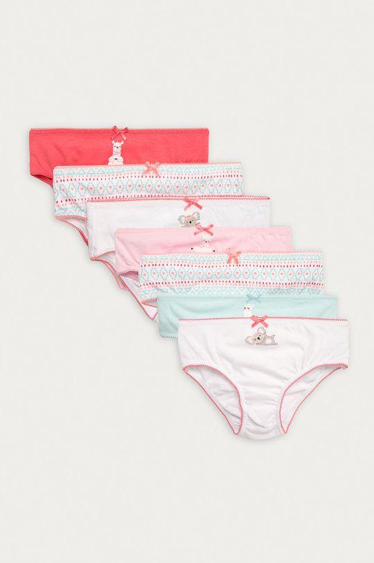 viacfarebná OVS - Detské nohavičky (7-pak) Dievčenský