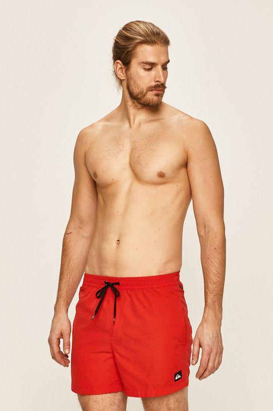 Quiksilver - Plavkové šortky červená
