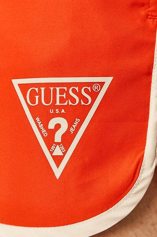 oranžová Guess Jeans - Plavkové šortky