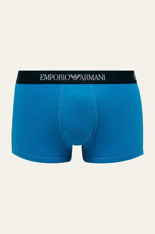 Emporio Armani - Boxerky (3-pak) tmavomodrá