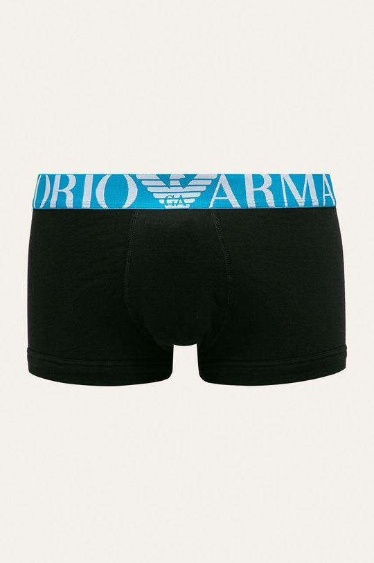 Emporio Armani - Boxeri (2-pack)  Material 1: 95% Bumbac, 5% Elastan Material 2: 7% Elastan, 93% Poliester