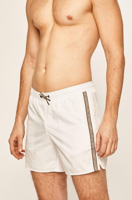 Emporio Armani - Plavkové šortky bílá