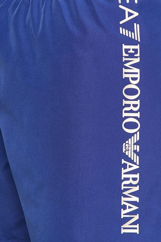 modrá EA7 Emporio Armani - Plavkové šortky