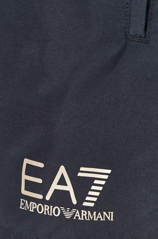 granatowy EA7 Emporio Armani - Szorty kąpielowe
