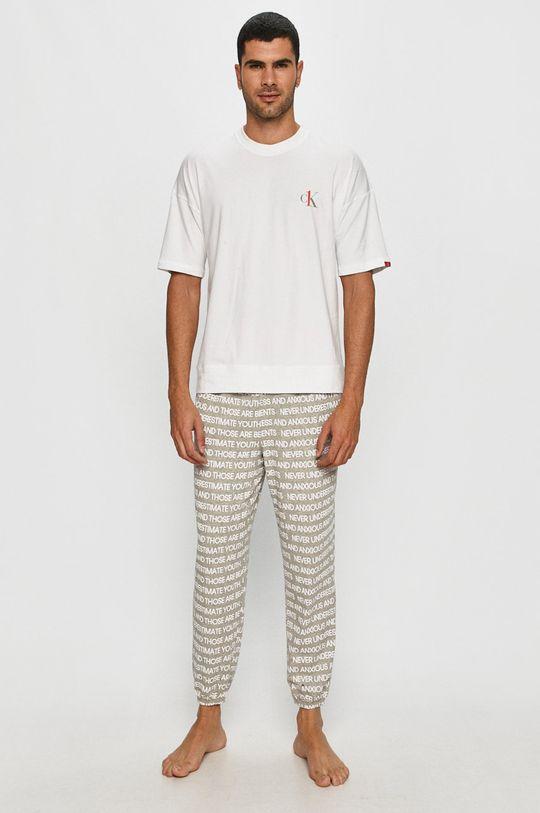 bílá Calvin Klein Underwear - Pyžamo Pánský