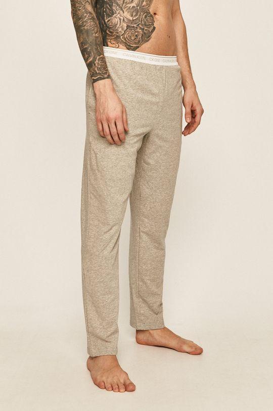 světle šedá Calvin Klein Underwear - Pyžamové kalhoty Pánský