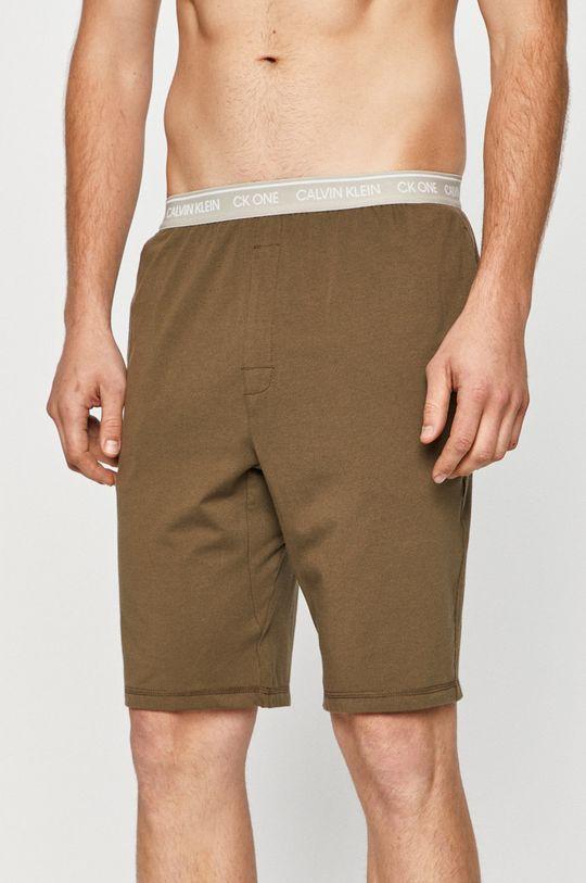 olíva Calvin Klein Underwear - Rövid pizsama Férfi