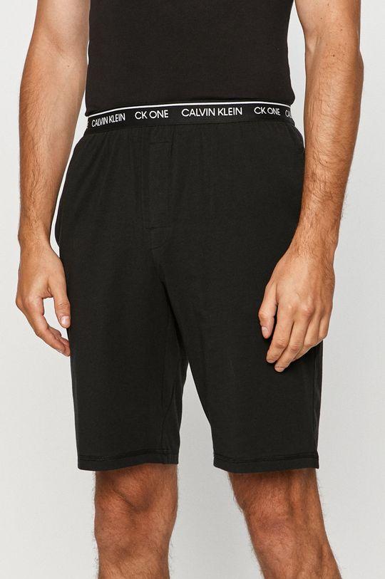 černá Calvin Klein Underwear - Pyžamové šortky Pánský