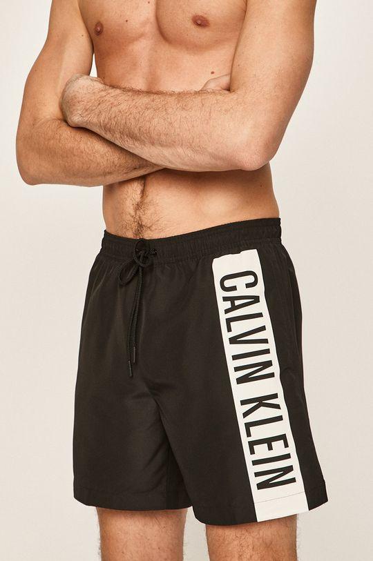 černá Calvin Klein Jeans - Plavkové šortky Pánský