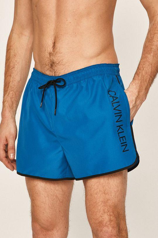 světle modrá Calvin Klein Jeans - Plavkové šortky Pánský