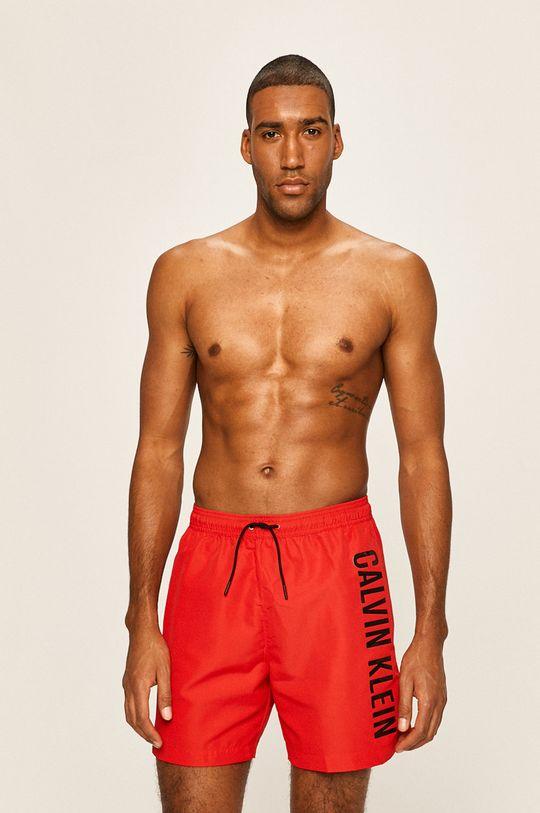 червен Calvin Klein Jeans - Шорти за плуване Чоловічий
