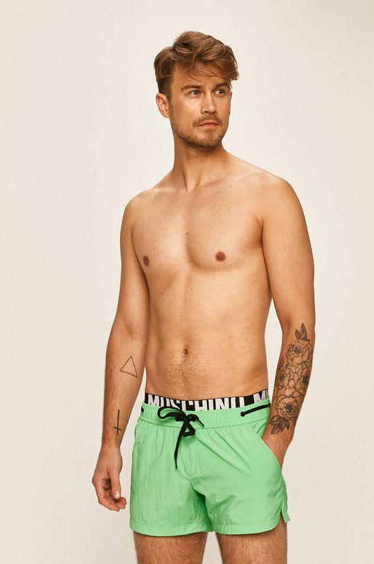 světle zelená Moschino Underwear - Plavkové šortky Pánský