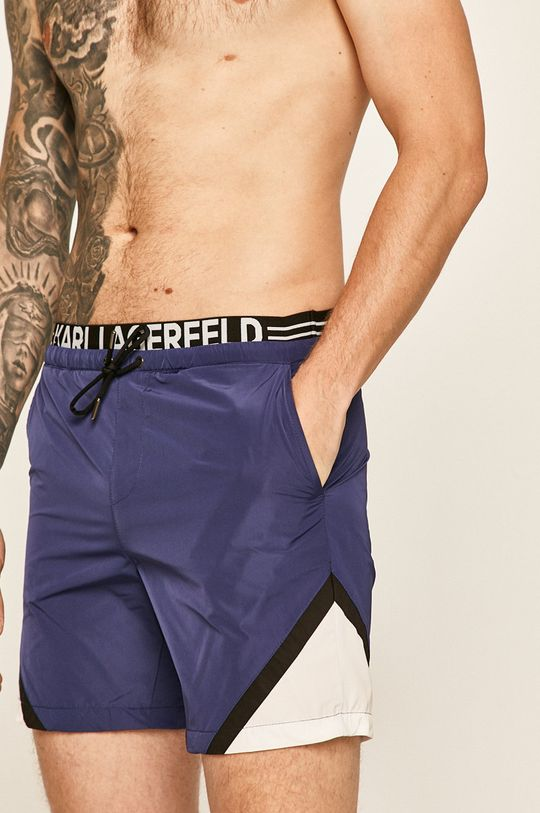 bleumarin Karl Lagerfeld - Pantaloni scurti de baie De bărbați