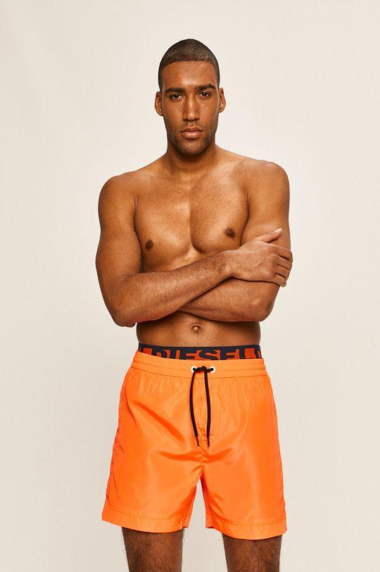 Diesel - Plavkové šortky oranžová