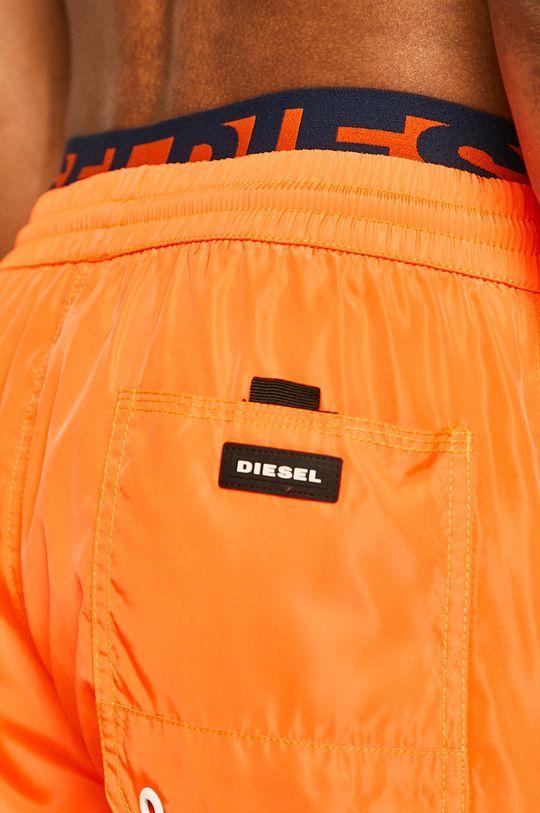 oranžová Diesel - Plavkové šortky