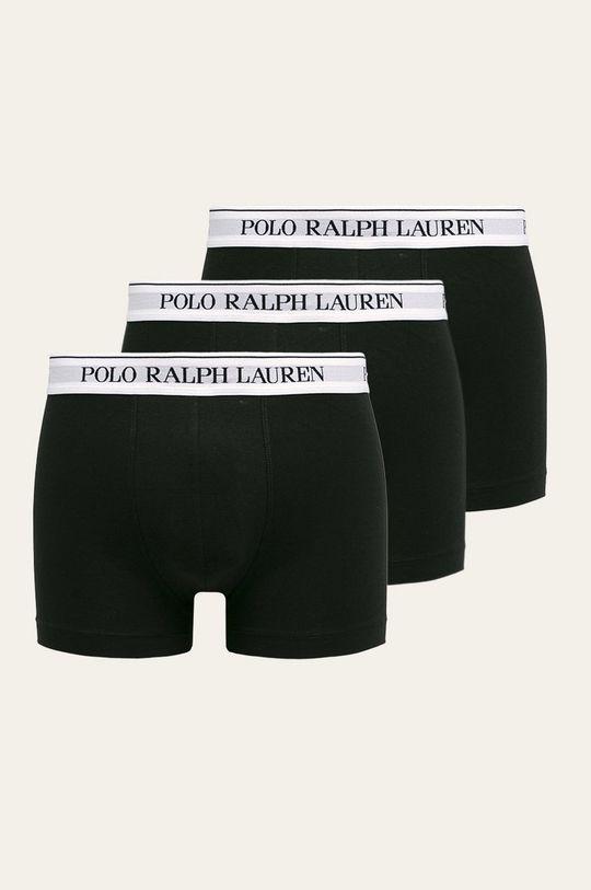 čierna Polo Ralph Lauren - Boxerky (3-pak) Pánsky