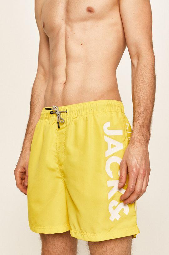 galben Jack & Jones - Pantaloni scurti De bărbați