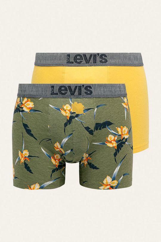 žltá Levi's - Boxerky (2-pak) Pánsky