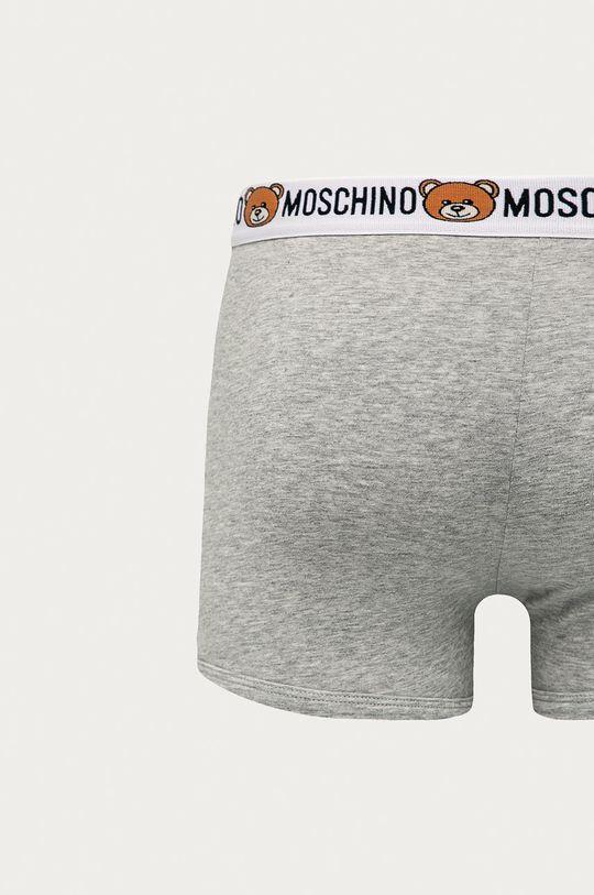 Moschino Underwear - Boxerky (2 pack) svetlosivá