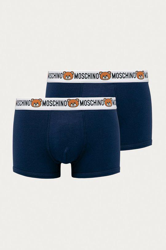 bleumarin Moschino Underwear - Boxeri (2 pack) De bărbați