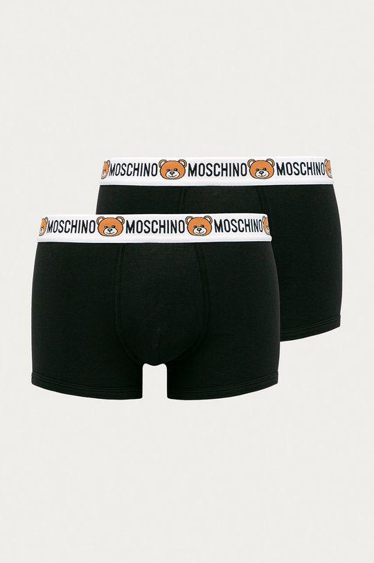 negru Moschino Underwear - Boxeri (2 pack) De bărbați