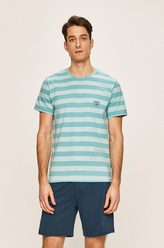 modrá Henderson - Pyžamo Pánsky