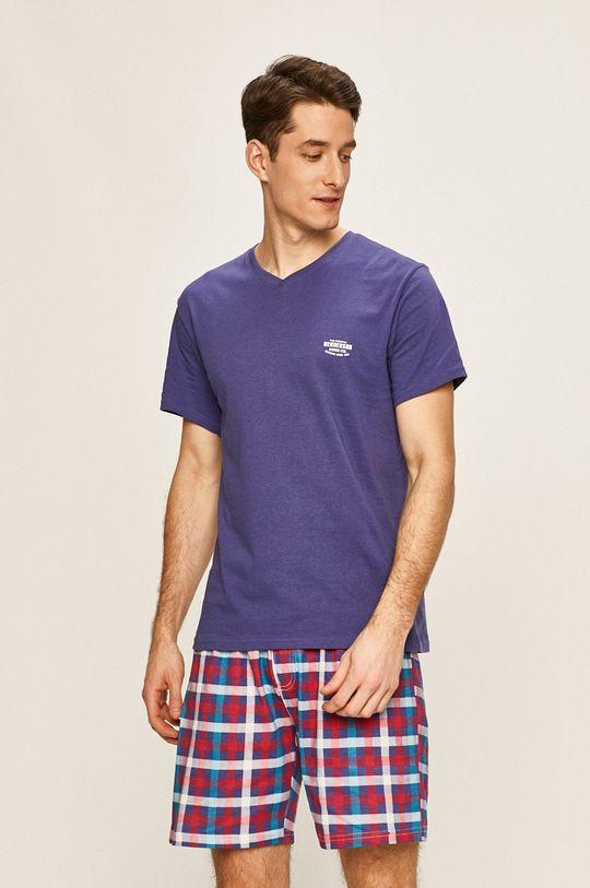 fialová Henderson - Pyžamo Pánsky