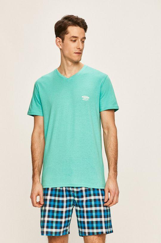 svetlozelená Henderson - Pyžamo Pánsky